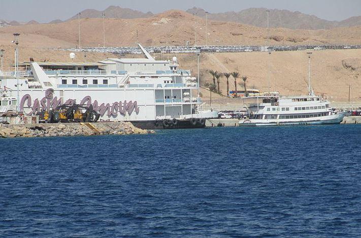 Les casinos flottants d'Eilat vont ils être concurrencés par une possible ouverture de casinos légales dans la station balnéaire? -crédit photo Wikimédia-