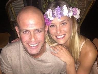 Le top-modèle israélien, Bar Refaeli et son mari, l'homme d'affaires, Adi Ezra -crédit photo Instagram