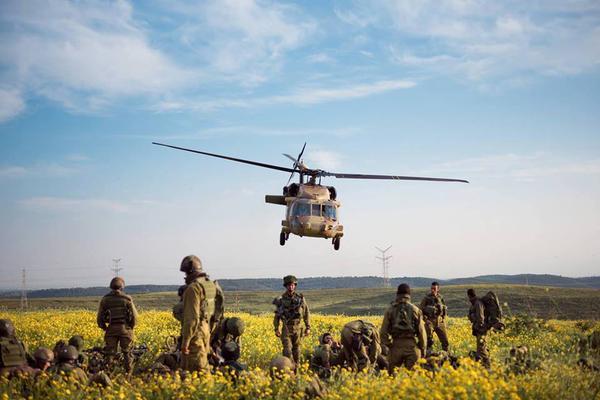 Une unité combattante de Tsahal sur le terrain - crédit Twitter