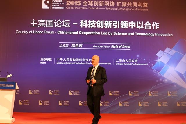 L'ambassadeur d'Israël en Chine, Matan Vilnai Crédit Ambassade d'Israël en Chine
