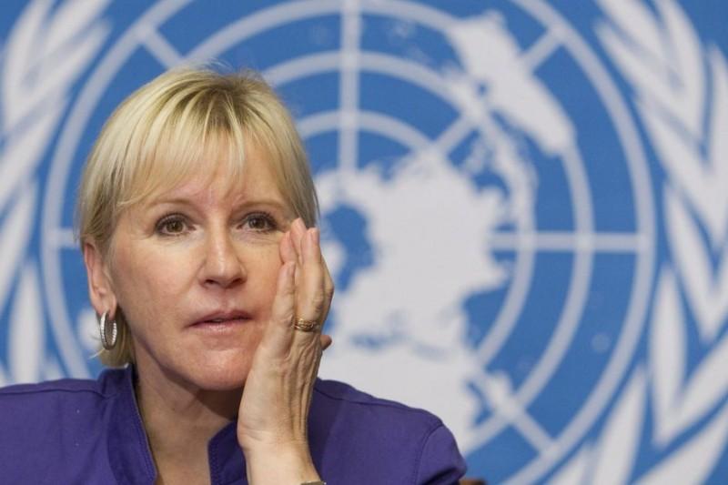La ministre suédoise Margot Wallström est connue pour ses diatribes anti-israéliennes