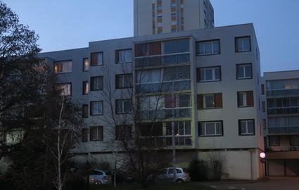 C'est dans cet immeuble rue Charcot, que Ramzi vivait avec sa famille jusqu'à fin novembre. (LP/A.V.)