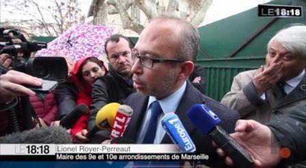 Lionel Royer Perreaut - Maire des 9ème et 10 ème arrondissements de Marseille