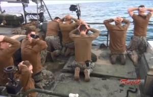 L'Iran a humilié les Etats-Unis en arrêtant des Marines américains le 12 janvier