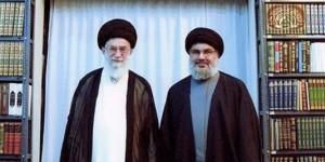 Le chef du Hezbollah (ici à droite avec l'Ayatollah Khamenei) crie déjà victoire