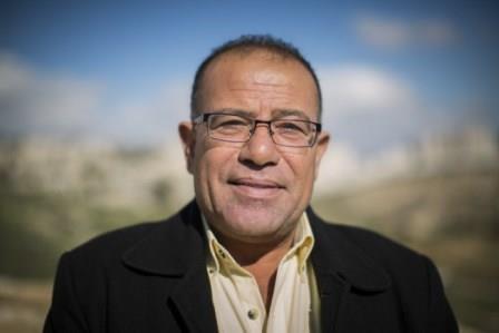 Bassam Eid, militant palestinien des droits de l'Homme – Photo Yonatan Sindel / Flash 90