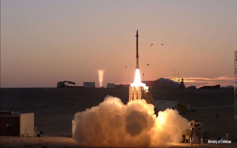 Le système antimissile « Fronde de David » est lancé au cours du test final avant son entrée en service.