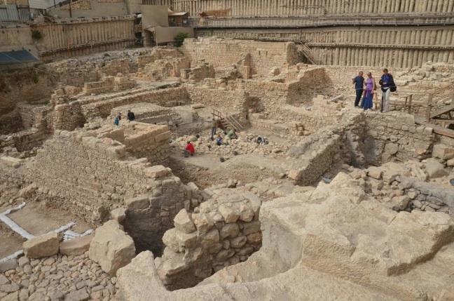 Vue générale du site –  Crédit photo : Autorité israélienne des antiquités