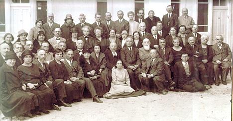 Groupe des fondateurs d'Ahuzat Bayit