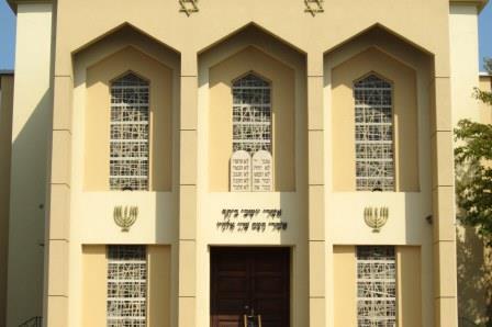 Crédit Wikimedia - Synagogue de Thionville
