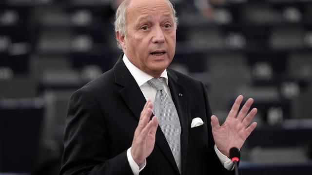 L'Ancien Ministre Laurent Fabius menaçait Israël d'une reconnaissance automatique de la Palestine