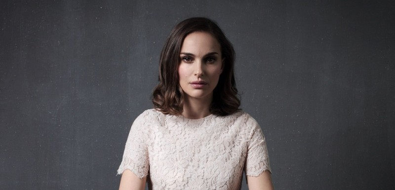 "Natalie Portman, actrice et réalisatrice du film ""A tale of love and darkness"""