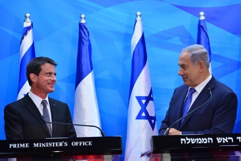 Manuel Valls a été reçu par Benjamin Nétanyahou le 23 mai