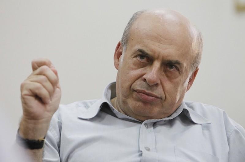 Natan Sharansky, Président de l' Agence juive parlant à des journalistes dans son bureau le 12 septembre 2014  (  (Miriam Alster/Flash90