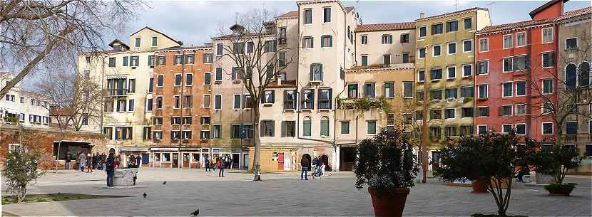 Venise: le Ghetto à Cannaregio