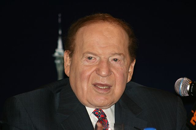 Sheldon Adelson. photo : Wikimedia Commons
