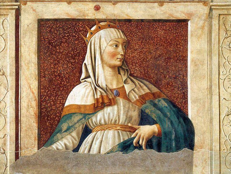 Esther par Andrea del Castagno (Wikimedia Commons)