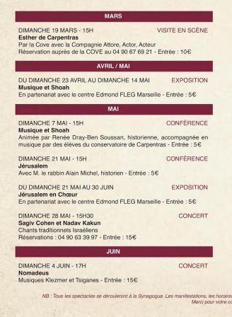 programme carpentras1