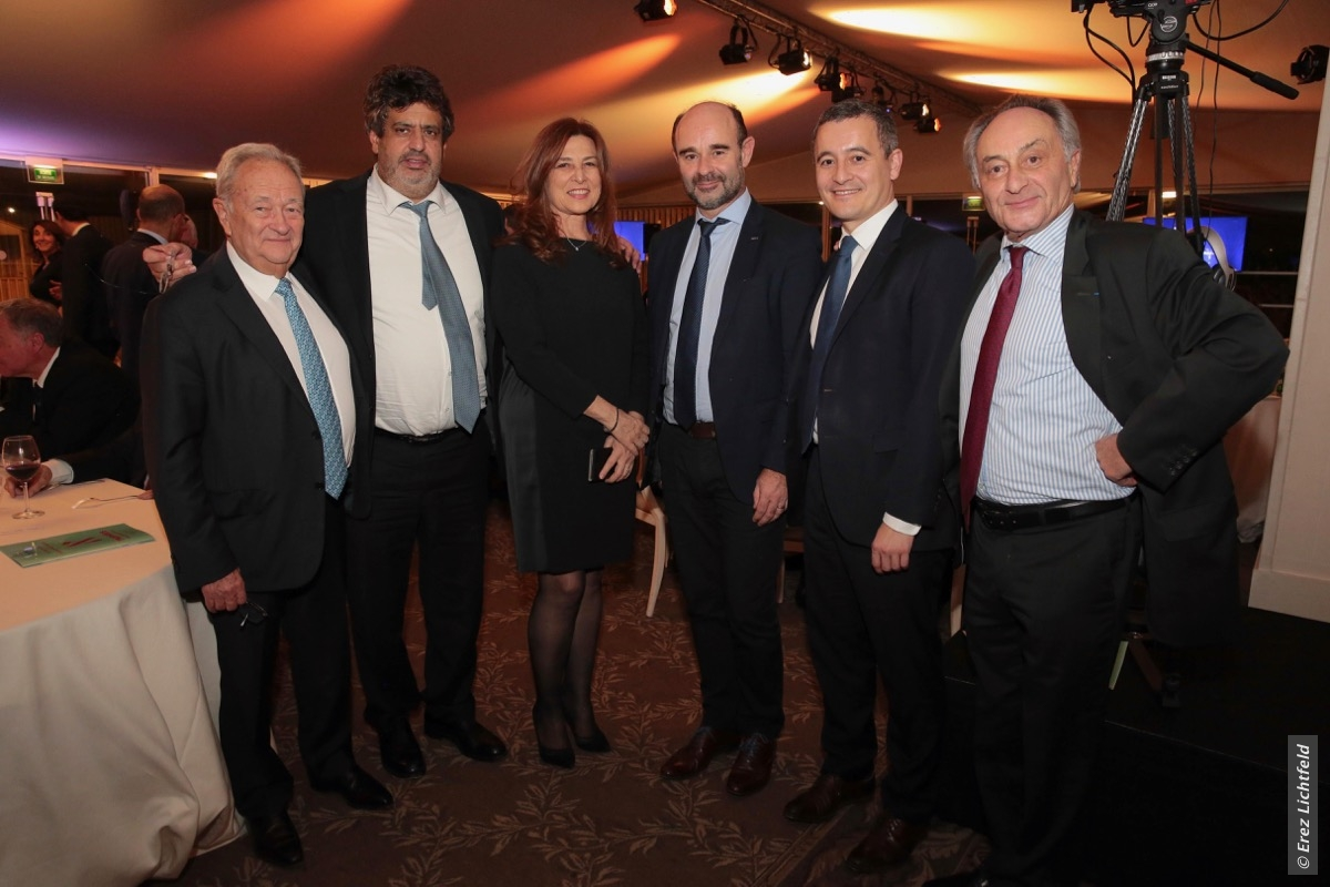 Le dîner de la Chambre de Commerce France- Israël