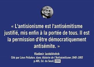 Ni oubli, ni pardon: réponse aux 127 félons opposés au combat contre l'antisionisme.  Frédéric Sroussi